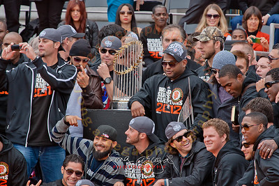 2012 SF Giants World Series Parade Celebration-The Management and Players