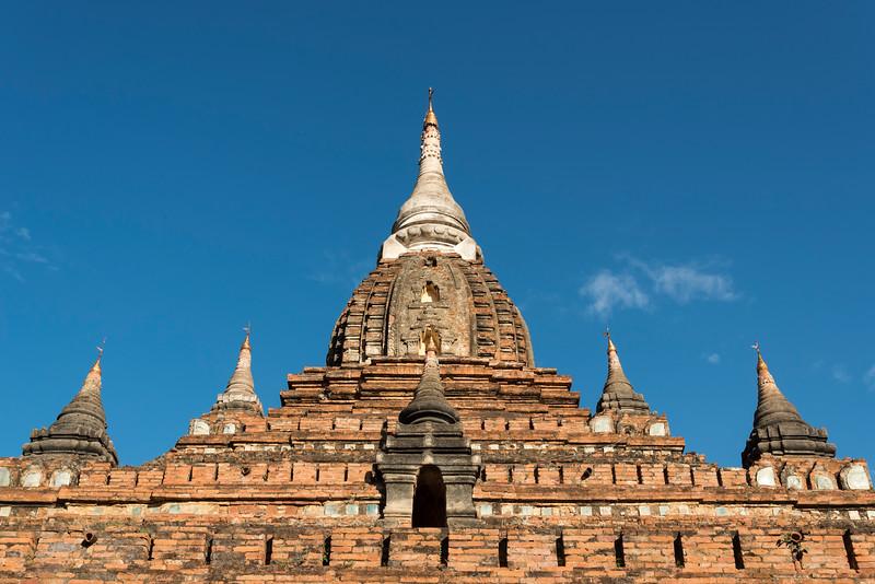 Nagayon Paya temple in Bagan, Burma - Myanmar