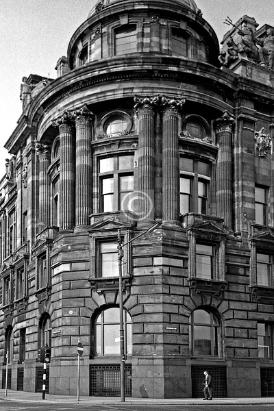 Robertson St / Broomielaw, CNT building. July 1975