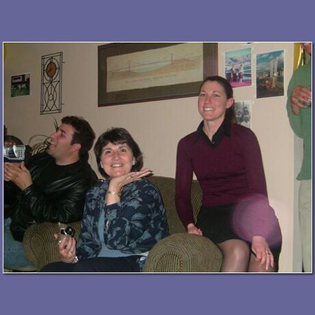 2004 January 24 Piet's 60th B-day - Me, Joanne and Charmaine.jpg