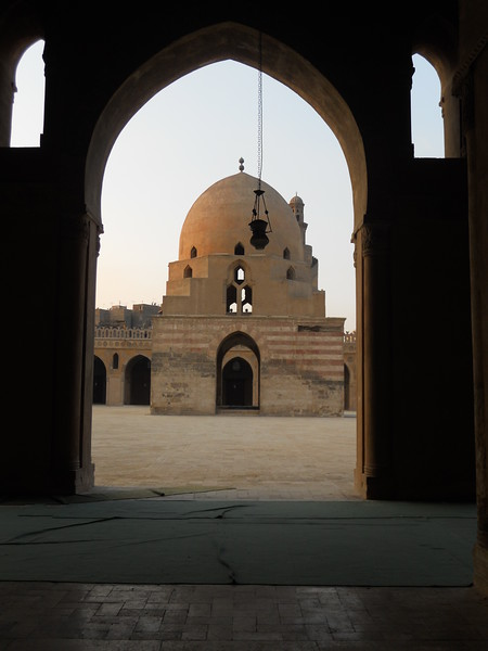 View from inside Ibn Tulun Mosque -- Kimberly Collins