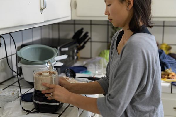 Mama Cooking Joshua's Food Aug 2017