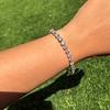 9.50ctw Round Brilliant Diamond Tennis Bracelet 17