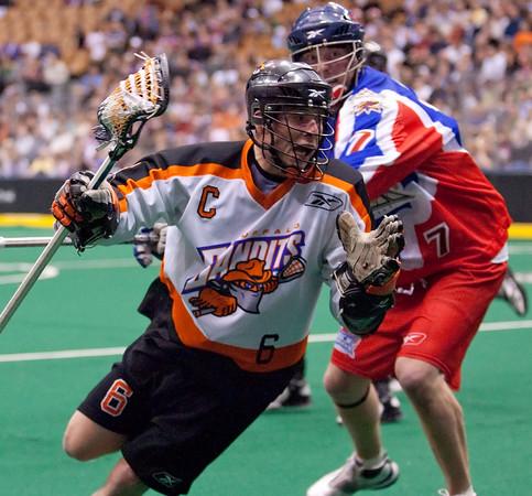 Buffalo Bandits @ Toronto Rock East Semi-Final 01 May 2010