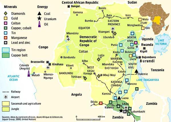 005_RDC. Le Kivu, Haute densité de population. Ressources minières abondantes. Zone de guerre..jpg