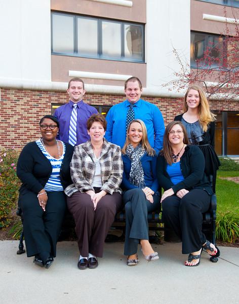 Admissions staff 2011