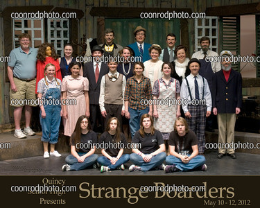 QHS - Strange Boarders 2012 Spring Play