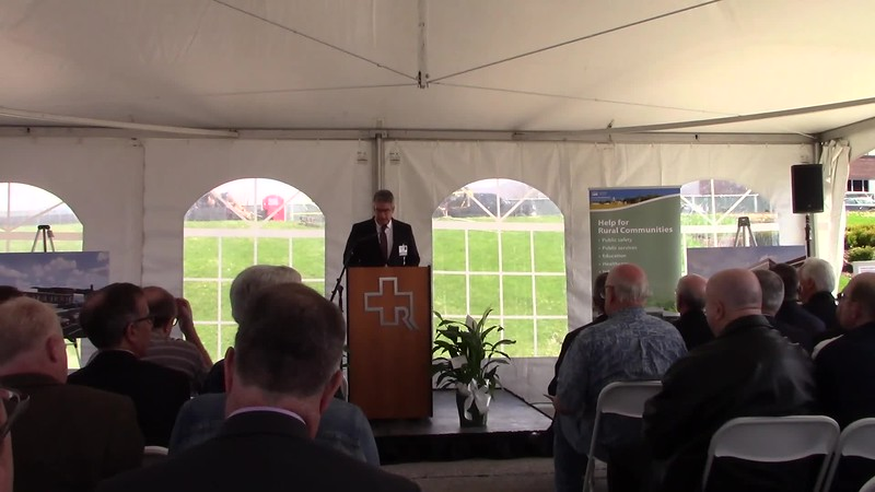 Claudio Fort, President & CEO of Rutland Regional Medical Center, opening remarks