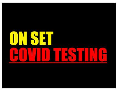 ON SET COVID TESTING