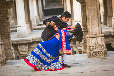 Pre Wedding Session - Adalaj