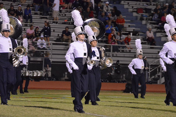 CCHS Band @ Gordan Central 10-10-14