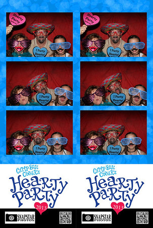 2013-04-05 Camp Bon Coeur's Hearty Party
