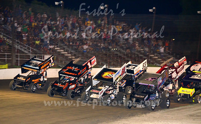 Grandview Speedway 08-18-16 All-Stars
