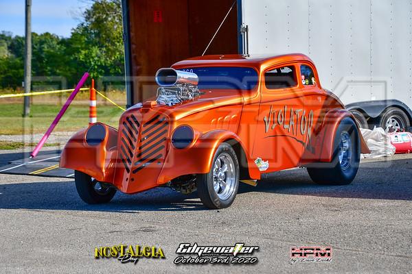Nostalgia Drag Racing - October 3rd, 2020