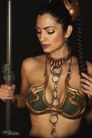 Slave Leia & Oola - Ivy Cosplay & Princess Lymari