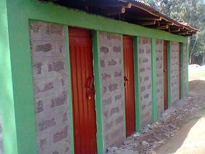 Kebele 19 - Toilet Block - Complete
