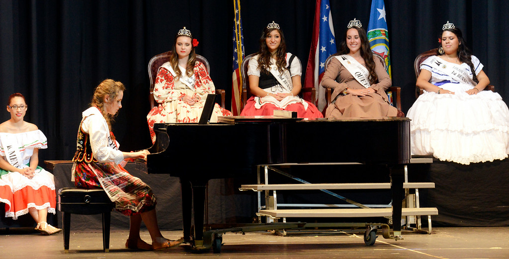 . Maribeth Joeright/MJoeright@News-Herald.com <p> Anastazja Golab, Polish Princess, was one of the contestants of the 48th annual Lorain International Princess Pageant, June 26, 2014. She was the first runner up in the pageant and she played the piano for the talent portion of the pageant.