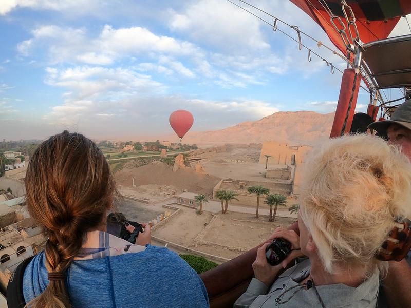 Luxor hot air balloon ride - Egypt