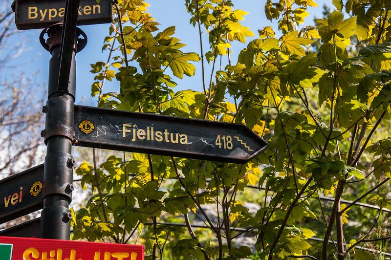2016.05.25 - Alesund. Walking up/down Fjellstua.