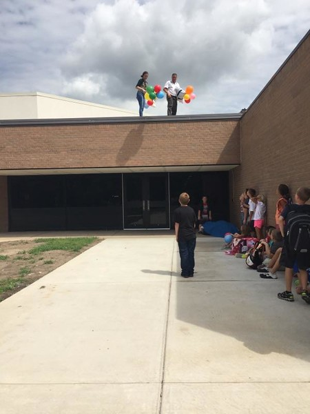 Eisenhower 4th Grade EGG DROP - SEP 2016