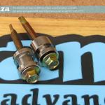 SKU: V3-ROLLER/BEARING, Bearing Set (Left/Right) for Aluminium Media Roller Bar of V-Smart/V-Auto Vinyl Cutters