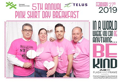 Pink Shirt Day 2019 Kelowna