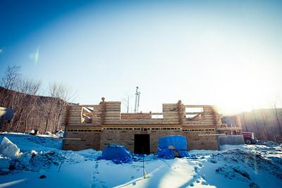 Andover Log Homes 2013
