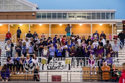 Football Cheer Band Senior Night 2017