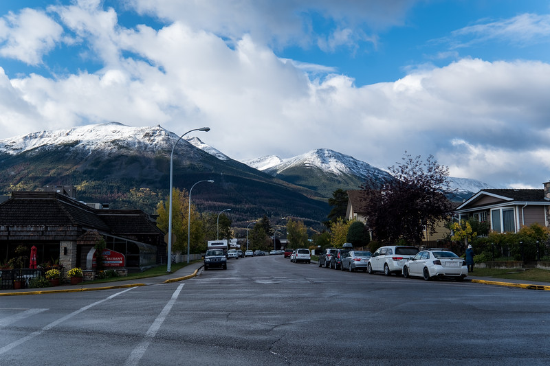 The Streets & Mountains of Jasper