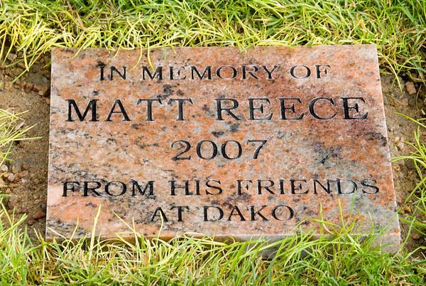 Matt Reece Memorial Tree