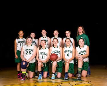 2015-2016 Girls 8th Grade Basketball