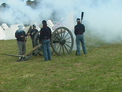 Monroe civil war renact