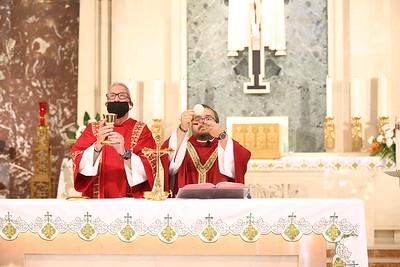 2021-08-26 Mass of the Holy Spirit