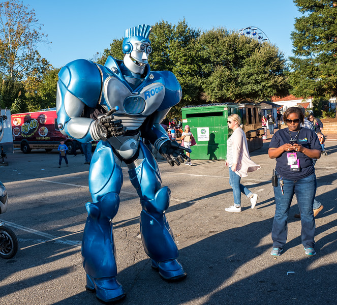 Rock-It Robot at NC State Fair 2016