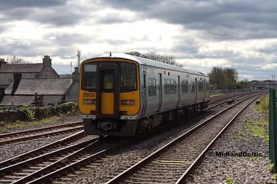 Portlaoise (Rail), 10-04-2017