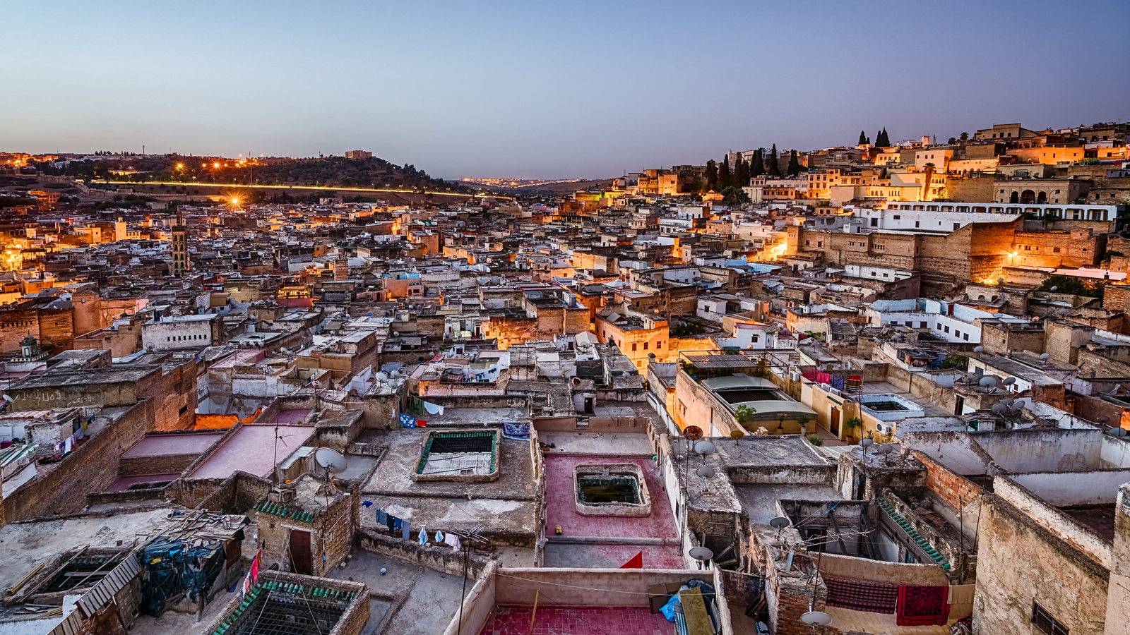Fes Morocco Roofs - copyright Andy Yee