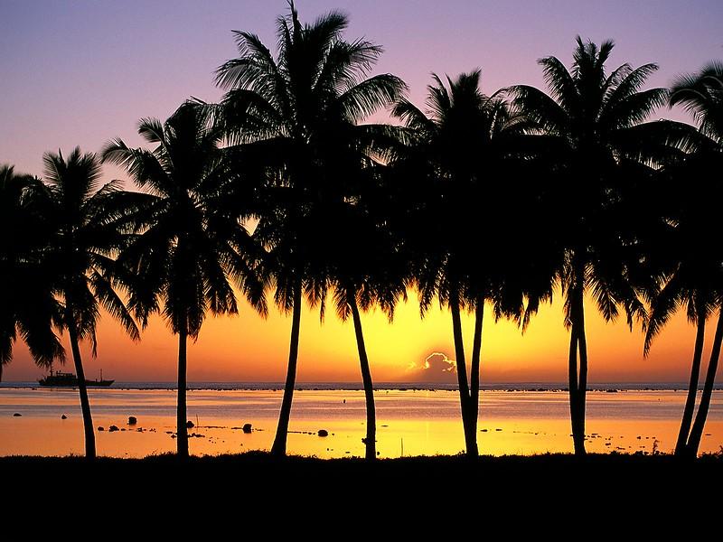 Aitutaki Island at Sunset, Cook Islands.jpg