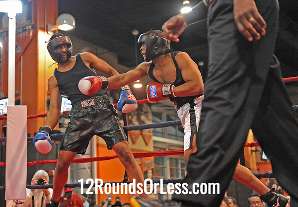 Jerrell Brown (Cleveland B.C.) vs Shawndell Hood ( Rock Hard Cash)  201 Pound (-) Novice  Bout # 18