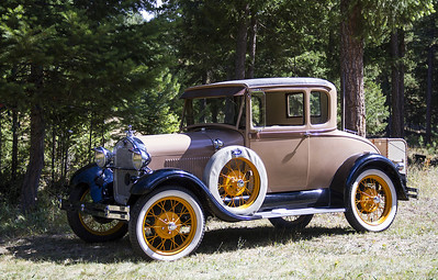 Smitty's 1929 Model A Deluxe