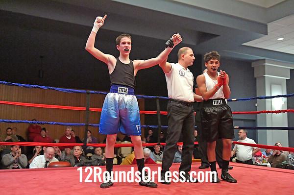 Ama-Bout 6 Jackson Behun-Behun, Red Gloves, Southside BC -vs- Shakbel Torres, Blue Gloves, Cleveland, 120 Lbs.