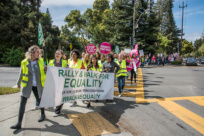 20170326: Rally & Walk for Equality (supporting ERA), Palo Alto