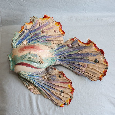 Fish Sculpture: Gregg J. Luginbuhl for Denny Weaver 08.30.2017