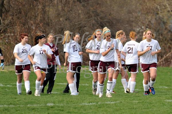 Brandywine VS Wyomissing Girls High School Soccer 2010 - 2011