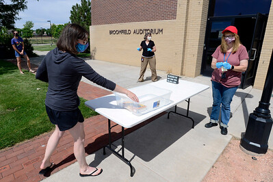 Photos: Mamie Doud Eisenhower Public Library During COVID-19