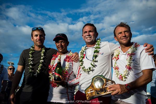 Trésors de Tahiti Pro wins !