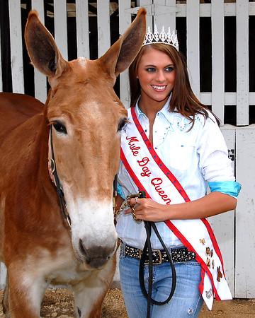 2007 Mule Day Queen & Court