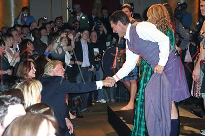 "New York, NY / USA - April 2, 2007:  Johnnie Walker's ""Dressed To Kilt 2007"" fashion show at Capitale."