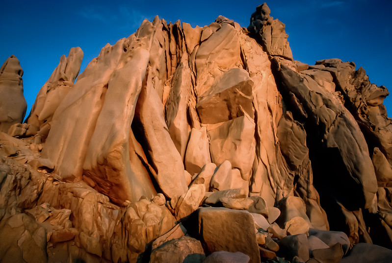 Rocks at Sunset- Cabo San Lucas, Baja California Sur