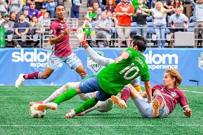 Colorado Rapids vs Seattle Sounders FC 9-29-18