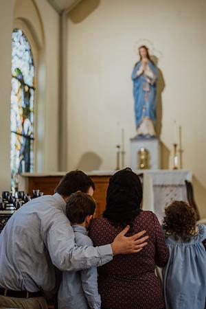 Latin Mass Baptism